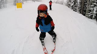 Snow Skiing - 3 year old - first time skiing