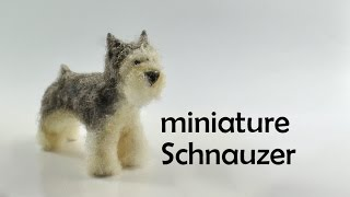Miniature Schnauzer - Polymer Clay Tutorial