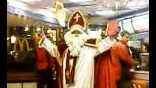 Sinterklaas bij de McDonalds