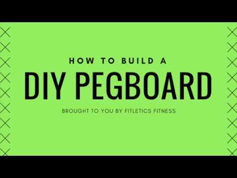 DIY Climbing Pegboard | Fitletics Fitness