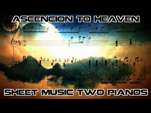 Xi | Ascension to Heaven | Sheet Music (Two Pianos)
