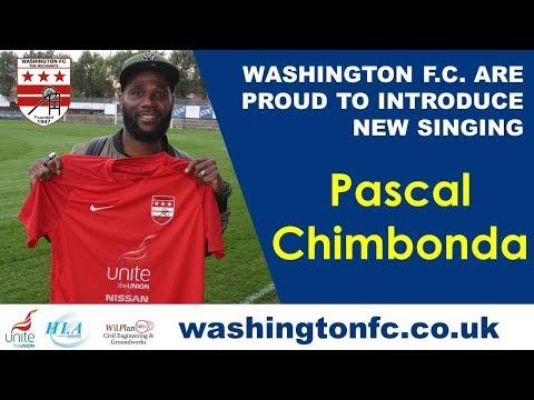 WASHINGTON F.C SIGN FORMER TOTTENHAM DEFENDER PASCAL CHIMBONDA