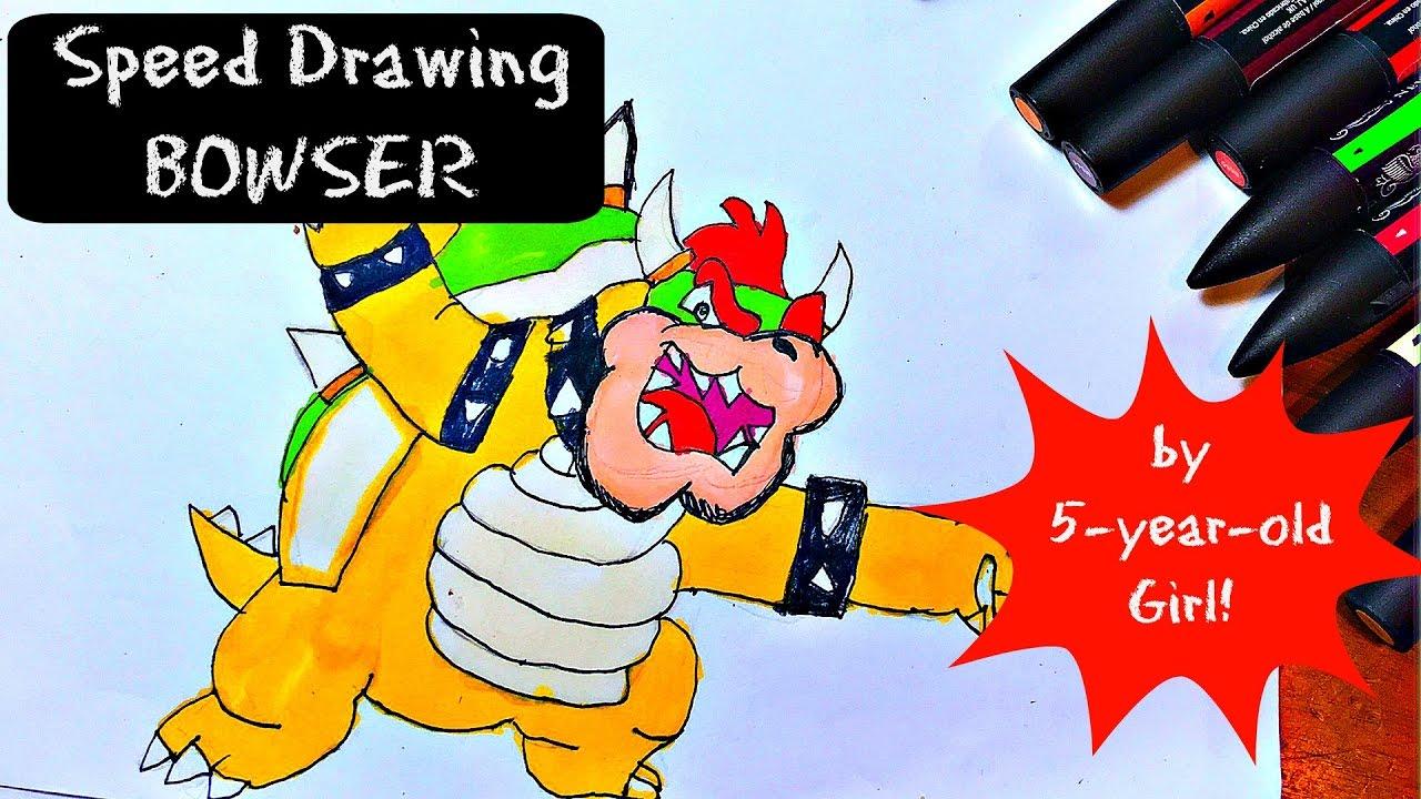 By Alli Burchardt Wowiealli Bowser Nintendo Cute Kawaii