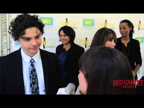 Max Burkholder at the 19th Annual PRISM Awards Ceremony prismawards