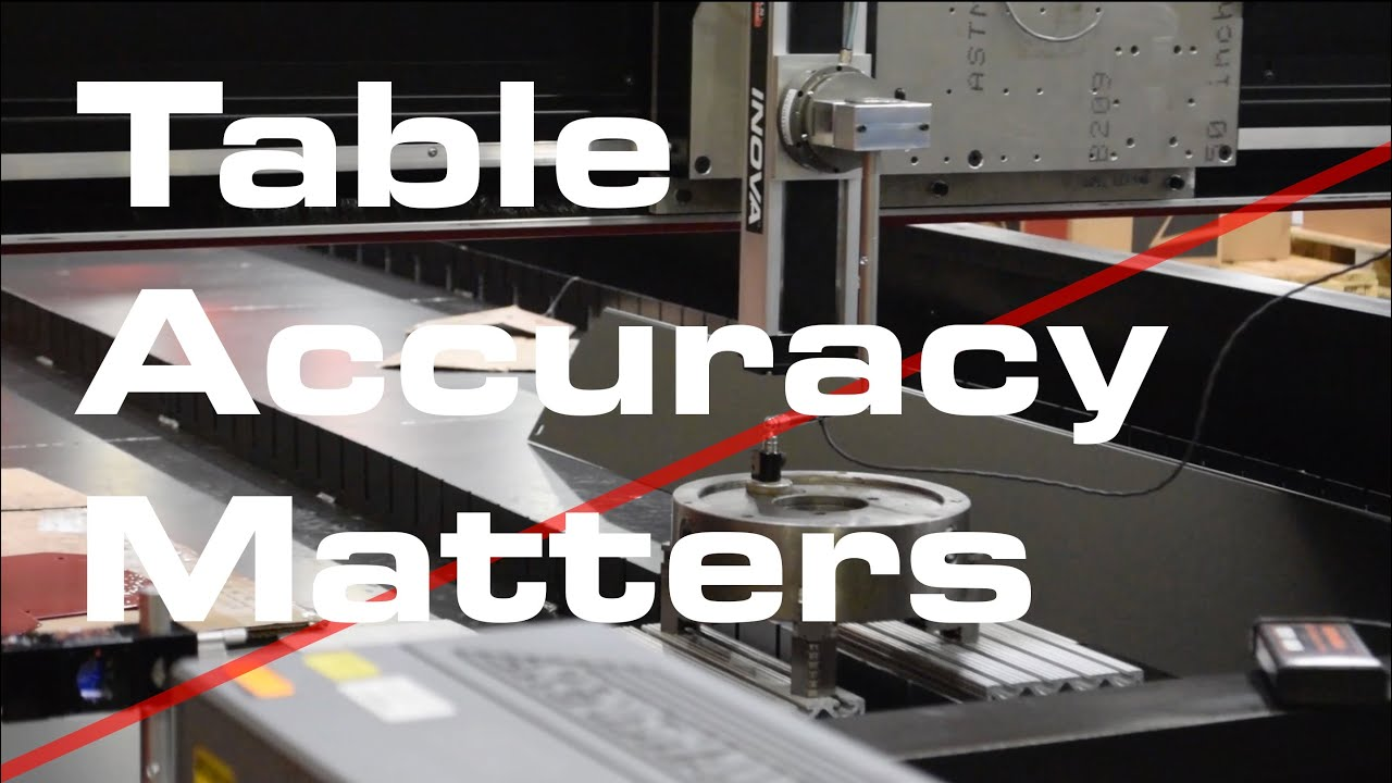 Testing For Cnc Plasma Cutting Table Accuracy Youtube