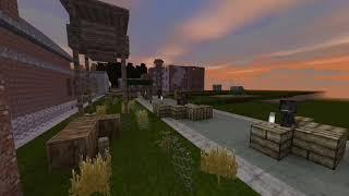Лагерь бандитов. 20-ти сек. обзор |MinecraftBE|