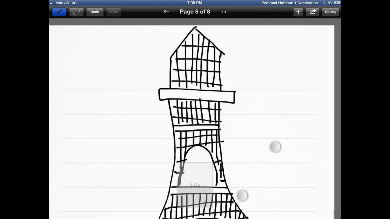 learn how to draw eiffel tower easy steps youtube