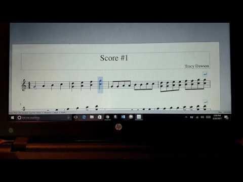 Music appreciation class: score #1
