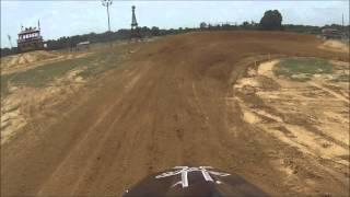 first time going threw the rythem section at paris tx mx