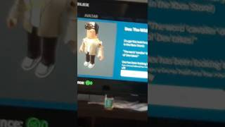 There is a new roblox xbox one character and his name is dex!!!