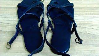 видео Женские сандали