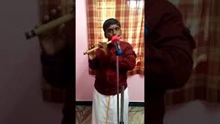 Alaporan tamizhan flute song by sanjay balajee11years old