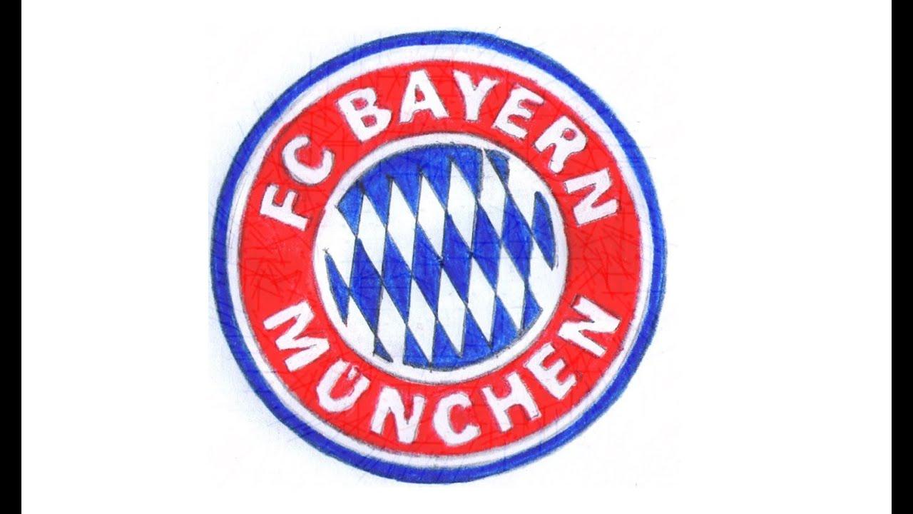 wie zeichnet man logo von fc bayern münchen deutsch