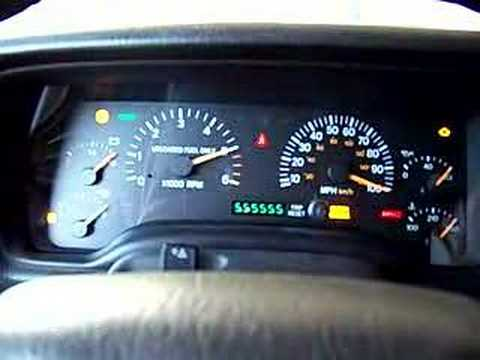 Jeep Cherokee Instrument Cluster Self Test Diagnosis - YouTube