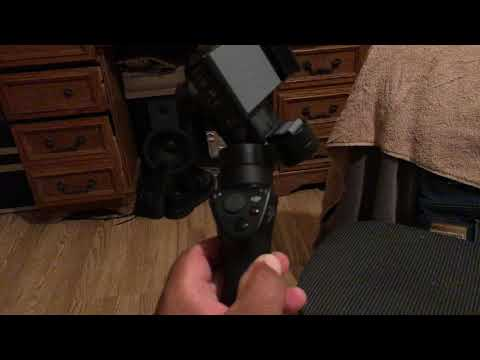 DJI OSMO Mobile camera position ERROR and FIX!