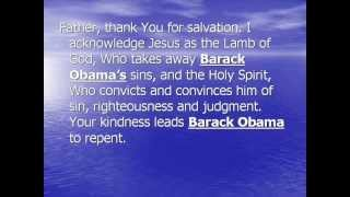 Prayer for Barack Obama Soul - Pray with The Born Again Man