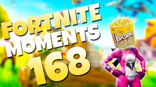 HAVE YOU SEEN THE GIANT POPCORN SKIN!? (NEW EMOTE GLITCH!) | Fortnite Daily & Funny Moments Ep. 168