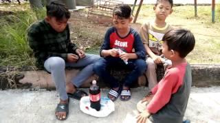 Cocacola Campur Mentos