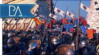 15K Man Siege Battle: Jerusalem's Final Stand - Medieval kingdoms Total War 1212AD Mod Gameplay