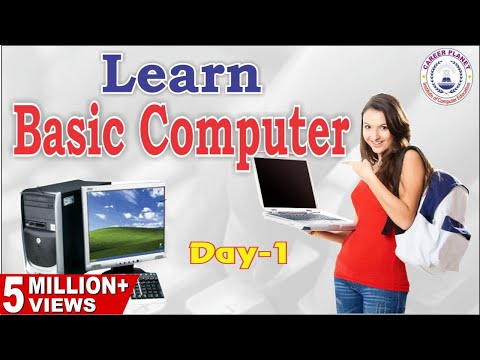 Learn Basic Computer in Hindi-Day 1|Basic Computer Skills for All Exams|RSCIT Course Day-1