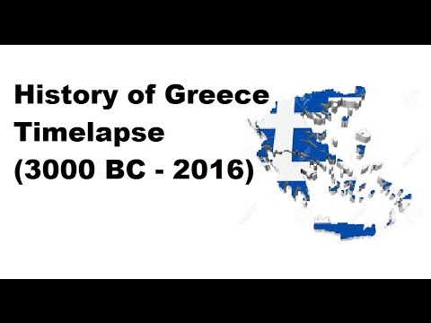 History of Greece - Timelapse (3000 BC - 2016)