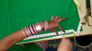 Heavy patiala salwar cutting