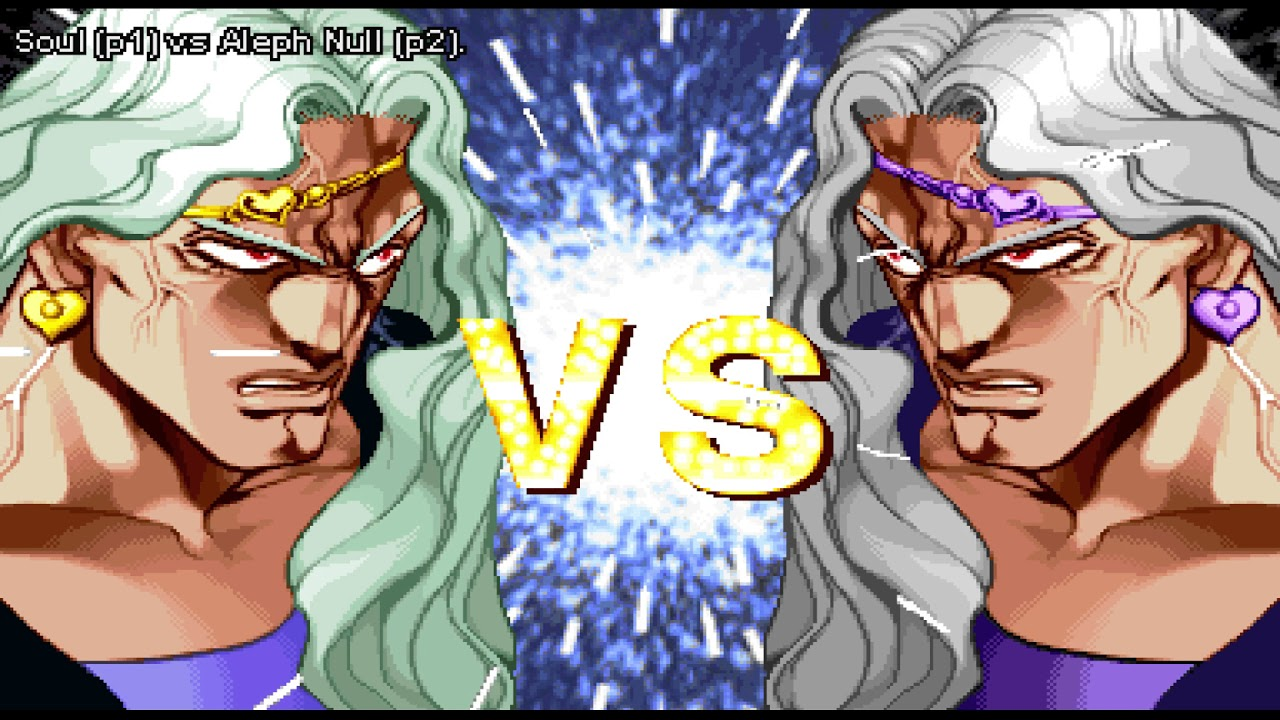 FightCade - JoJo's Bizarre Adventure - SouI (USA) vs  Aleph Null (USA) by  Aleph Null
