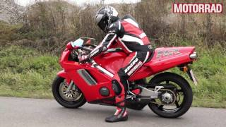 Honda NR 750: Soundcheck und Probefahrt
