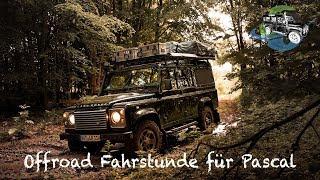 Fahrlehrer versinkt im Sumpf   Offroad Fahrstunde für Pascal   Teil 2