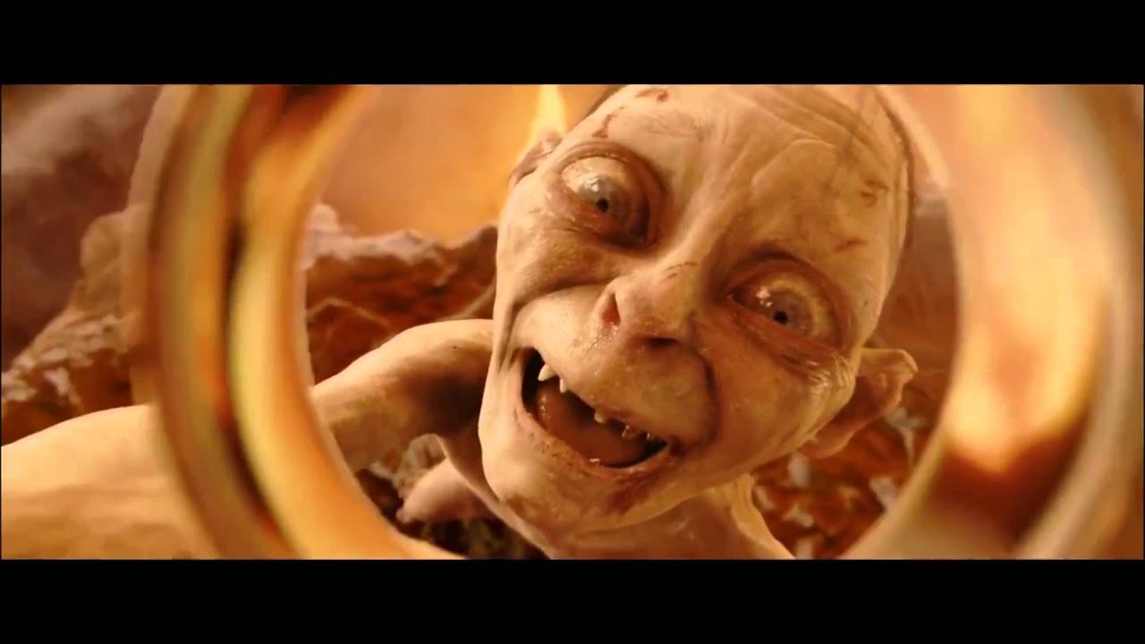 Image result for mount doom frodo gollum
