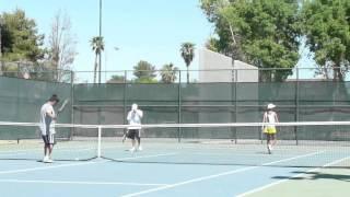 hot minka yellow skirt playing tennis