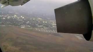Antonov An-148 takeoff from Odesa, Ukraine
