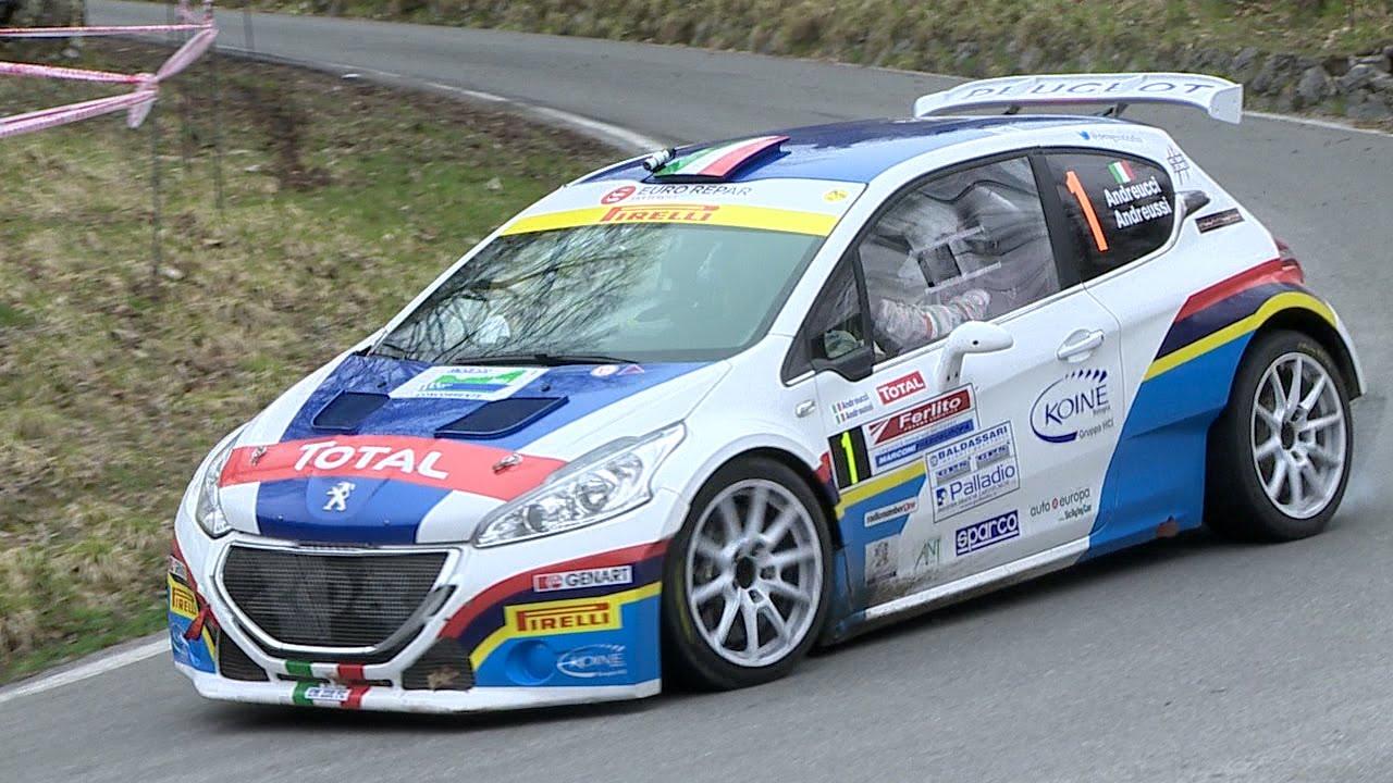 Rally Del Ciocco 2015: Peugeot 208 T16 E Andreucci