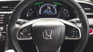 Honda Civic Facelift TC-P 2020 Malaysia (Honda Sensing)