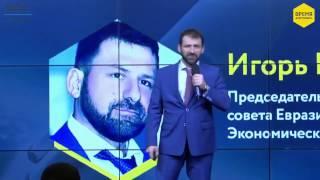 Выступление Игоря Рыбакова в финале программы Время действовать