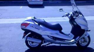 250cc gas motor scooter for sale