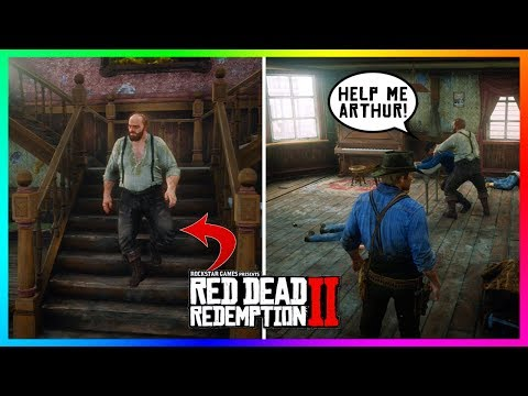 What Happens If Arthur DOESN'T Fight The Giant Who Tries To Beat Him Up In Red Dead Redemption 2?