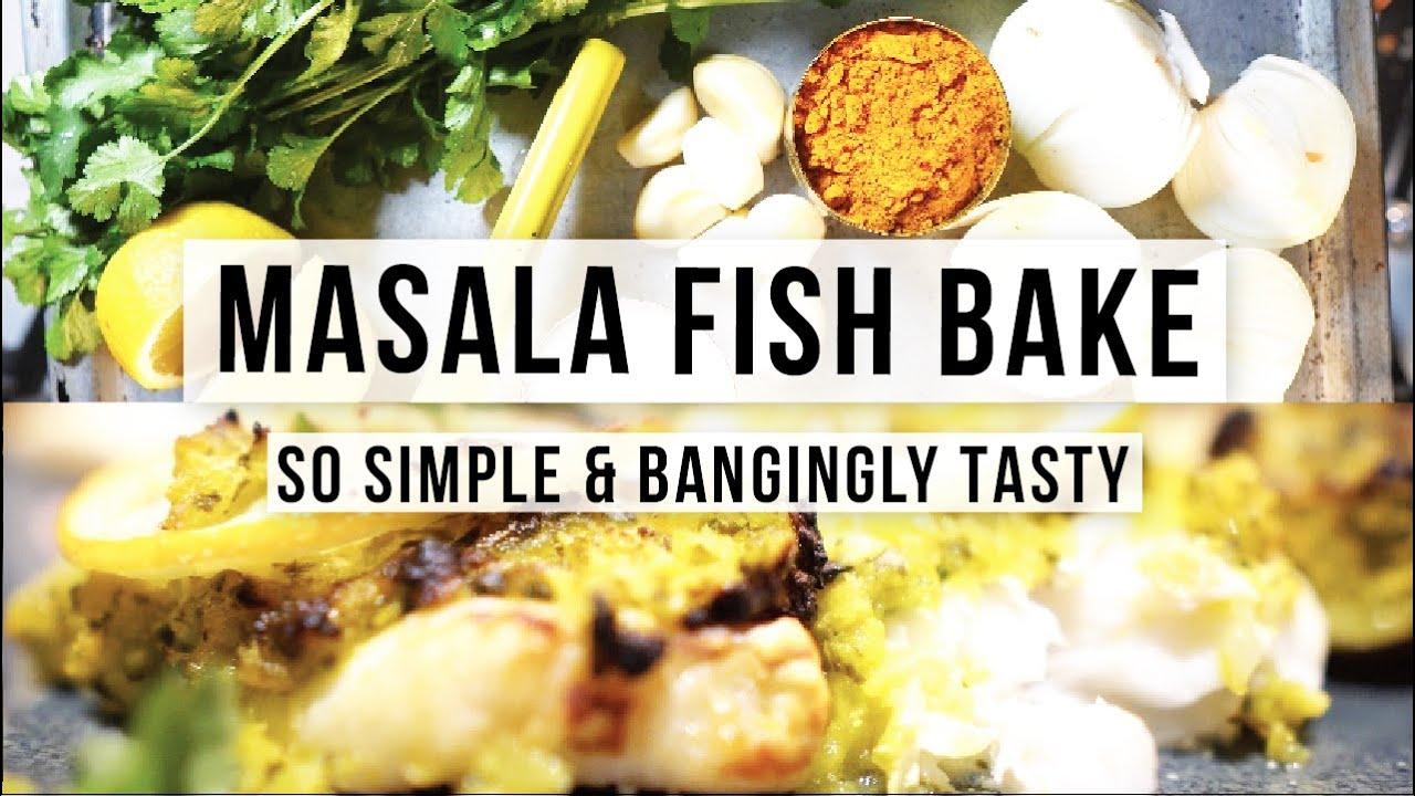 MASALA FISH BAKE