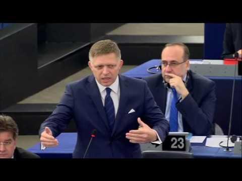 Strasbourg - Slovački premijer Robert Fico - odgovori zastupnicima