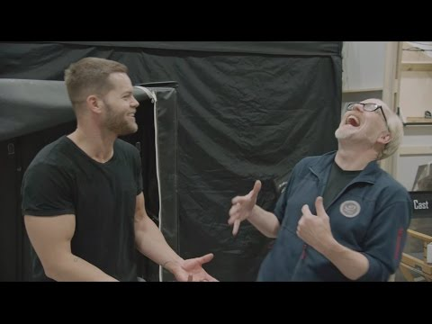Adam Savage Chats With The Expanse's Wes Chatham!