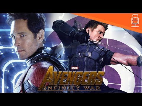 Hawkeye & Ant-Man Avengers Infinity War Whereabouts Explained