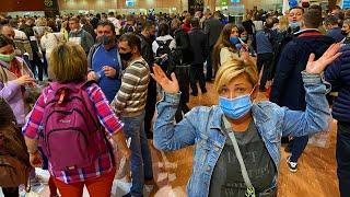 Летим в ЕГИПЕТ 2021 2 часа на паспортном контроле Новые правила перелета Шарм Эль Шейх 2021