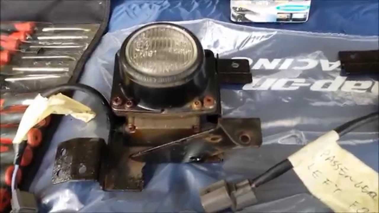 Crx Fog Light Wiring Diagram Circuit Schematic Bosch Honda Del Sol Sir Front Lamp Install Part 2 Youtube Marker