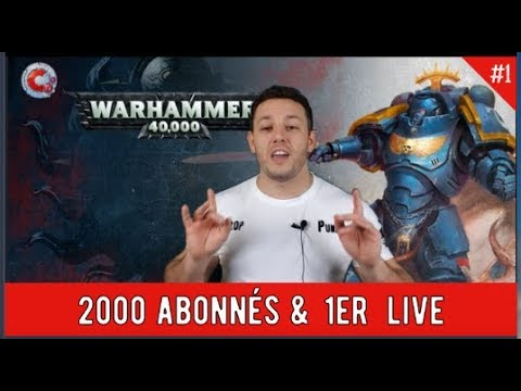 Commandeur TV - 2000 abonnées & 1er live !