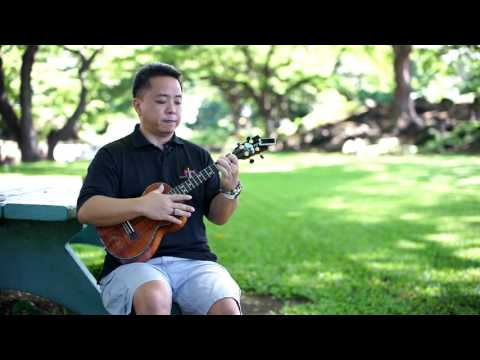 "Learn How to Play the 'Ukulele: ""Sanoe"" with Herb Ohta Jr."