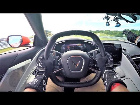 Chevrolet Corvette C8 POV on Track | Pittsburgh International Race Complex | Pitt Race