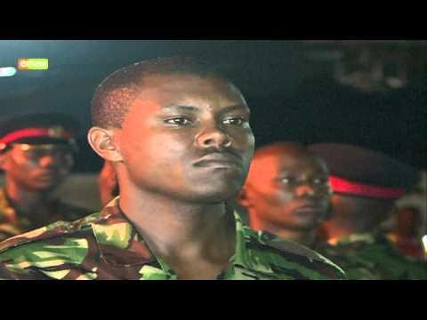 Bodies of KDF Soldiers killed fighting Al-Shabaab militants received in Nairobi