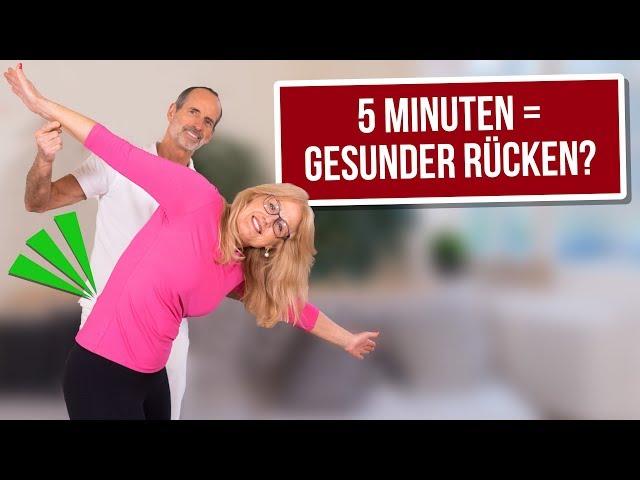 Nur 5 Minuten für einen beweglichen Rücken! ⏱ Teste diesen Flow zum Mitmachen!