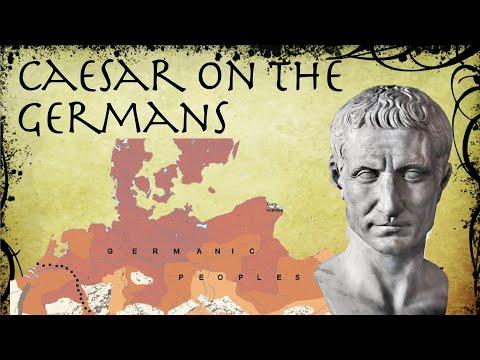 Caesar On The Germans // Roman Primary Source (58-49 BC)