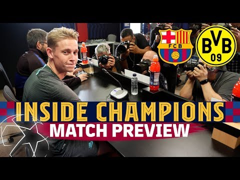 INSIDE CHAMPIONS | Barça - BVB (Match Preview)